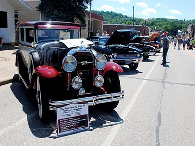 Car Show at June Dairy Days